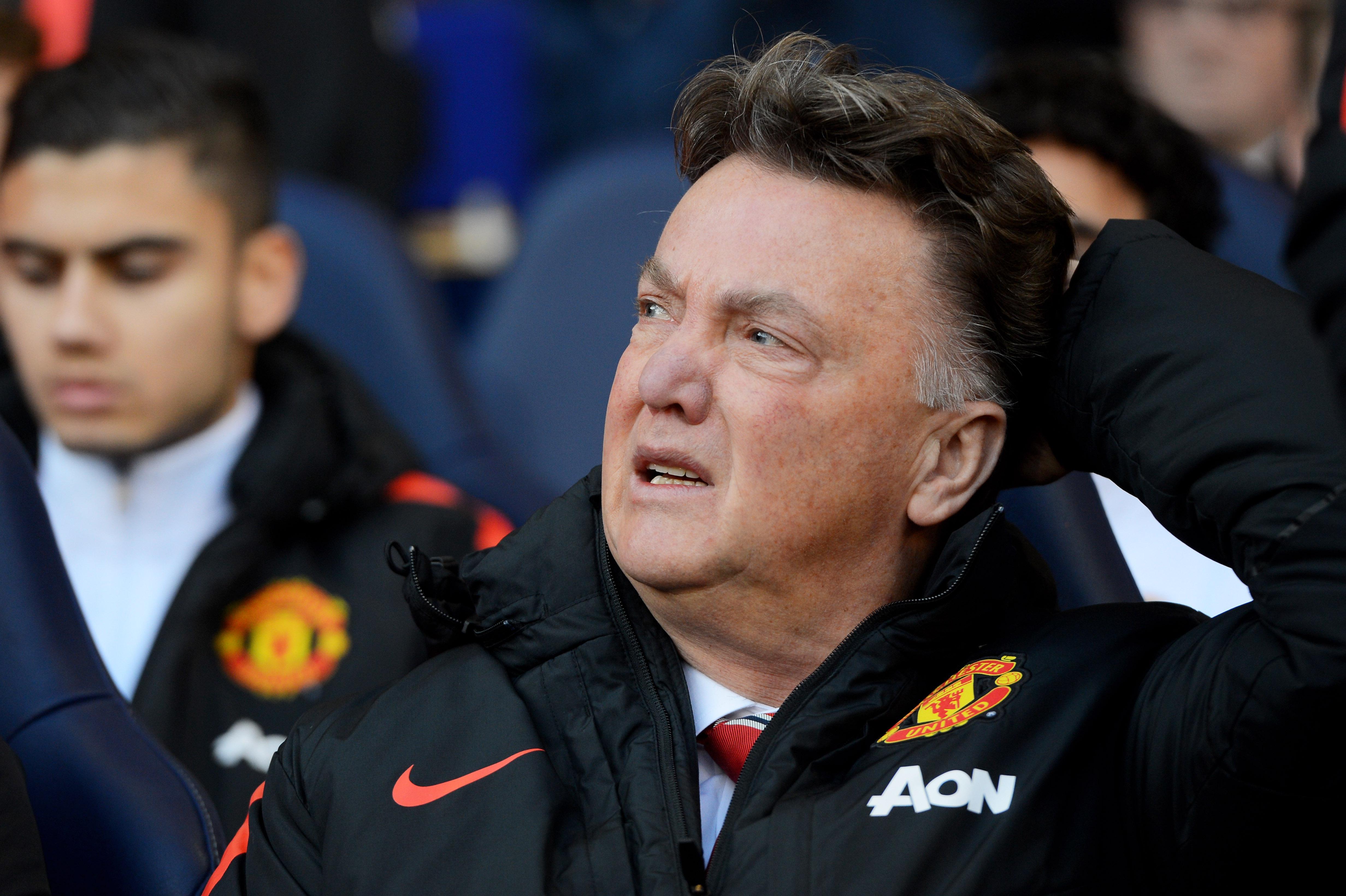 Van Gaal left Manchester United in 2016