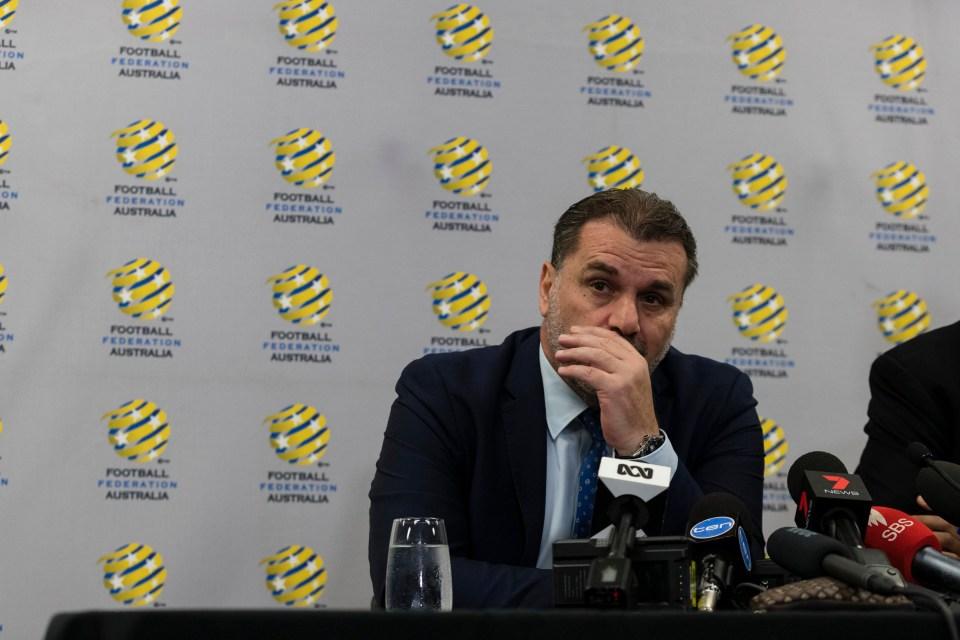 Austrlia are currently manager-less followingPostecoglou's shock resignation