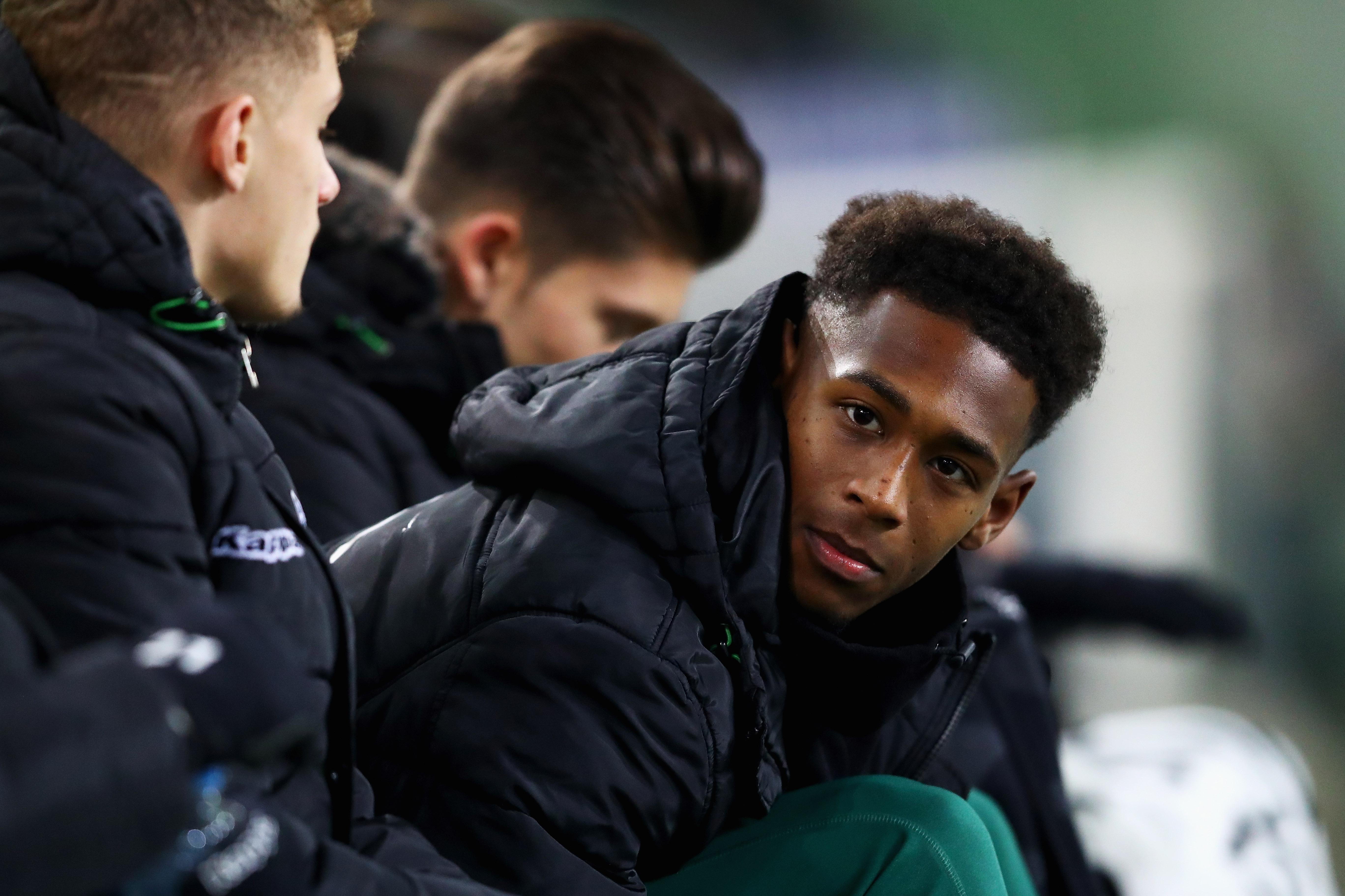 The youngster has had to bind his time in Germany