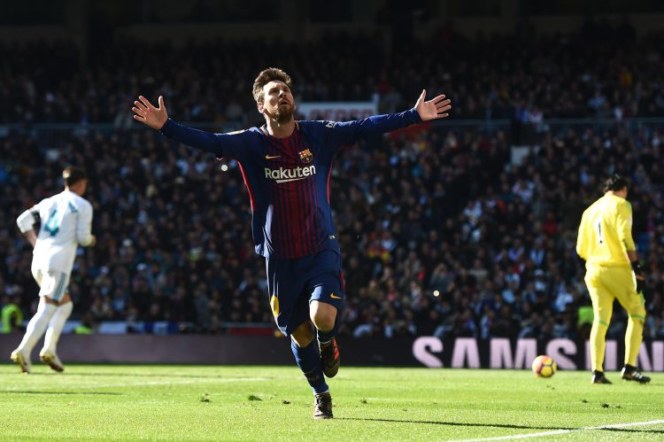 When it comes to scoring in El Clasico – Messi is the man