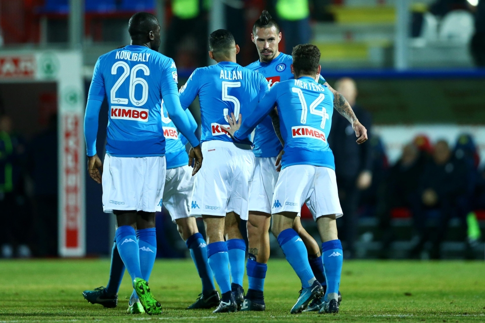 Hamsik has been ever-present for Napoli since joining in 2007