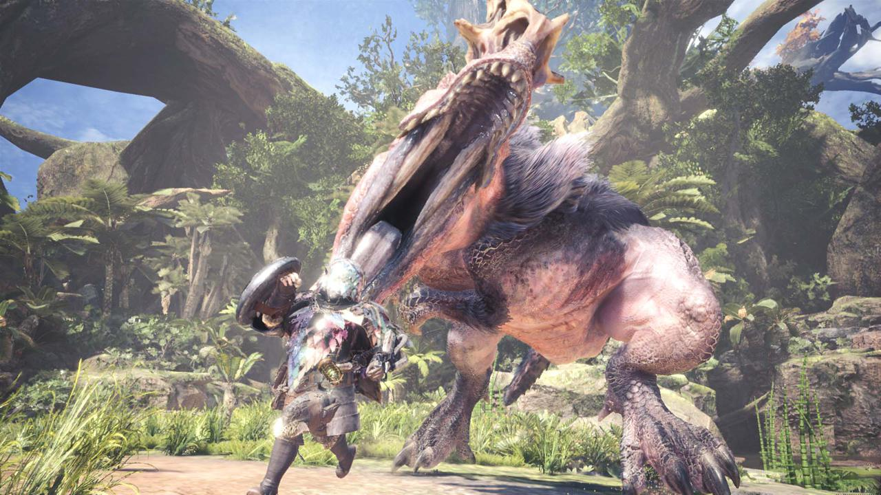 Stunning HD graphics help give Monster Hunter World a wider appeal than the last games in the series