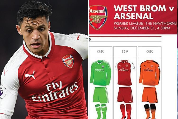 e76ddef8ea9 Arsenal to wear home kit with RED SHORTS for the first time in almost 40  years against West Brom