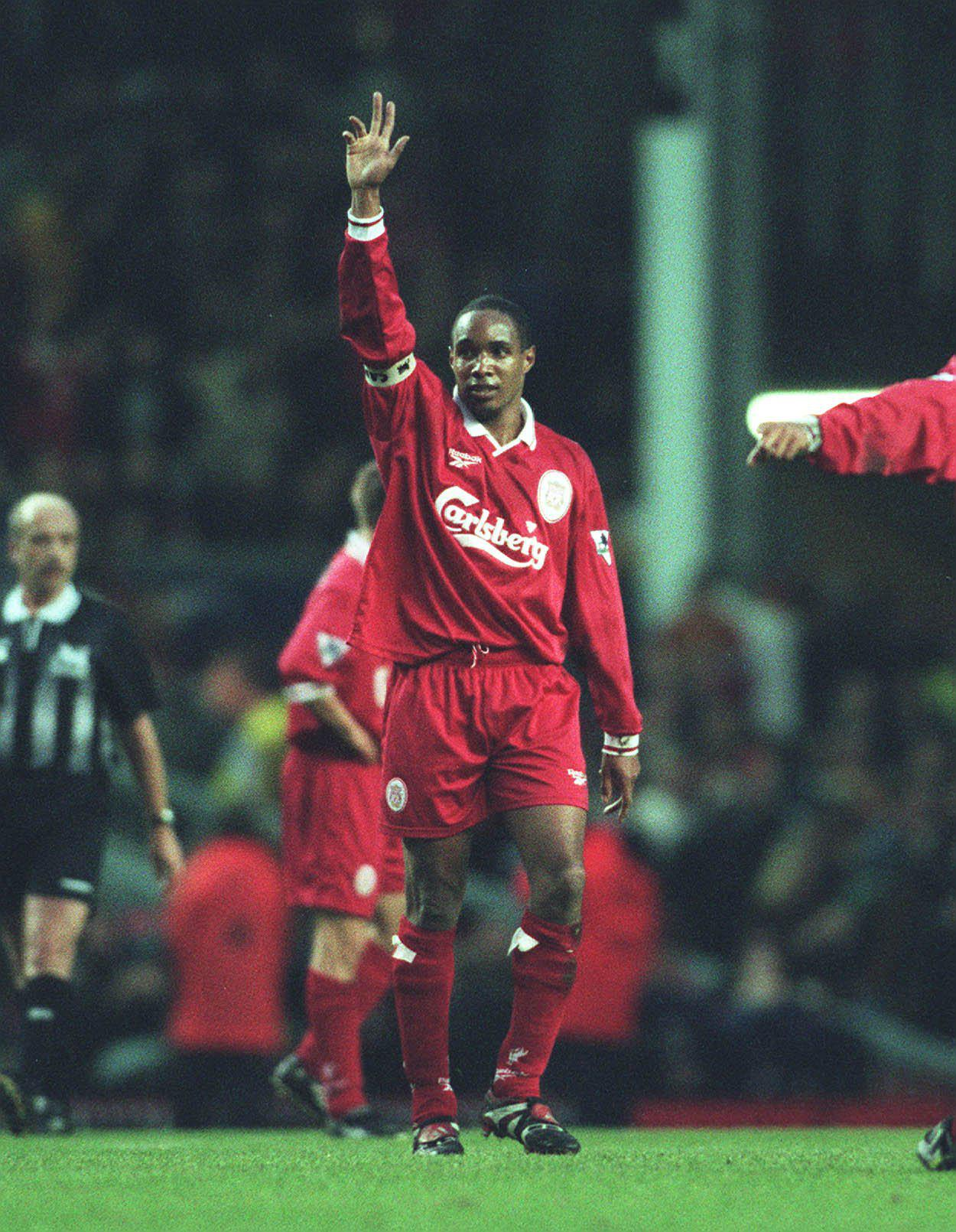 Ince captained Liverpool in the late 90s