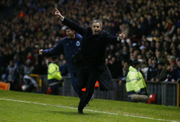 The first touchline gallop