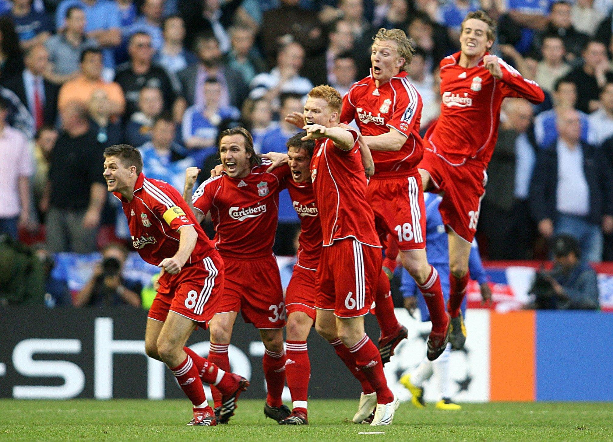 Liverpool beat Chelsea in the semi-finals in 2007