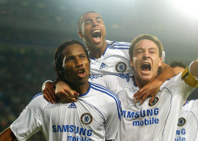 Drogba could occupy four defenders by himself