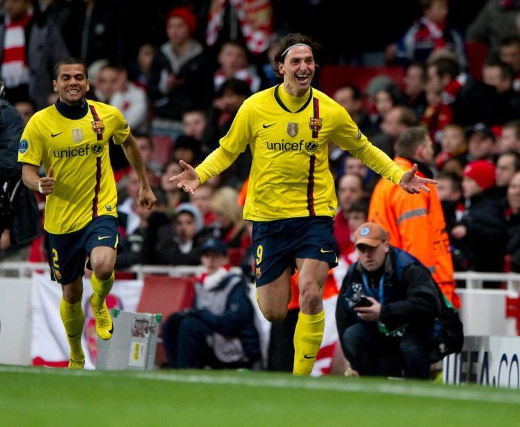 Like many others, Ibra came back to haunt the Gunners