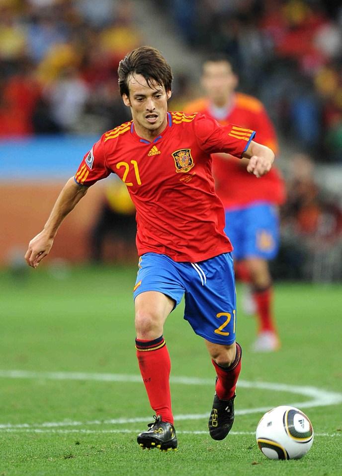 Silva embodies Spain's golden era