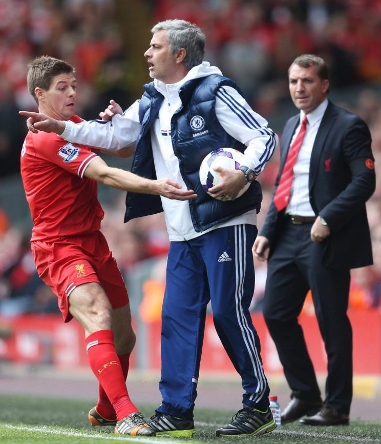 Gerrard trying to salvage Liverpools season