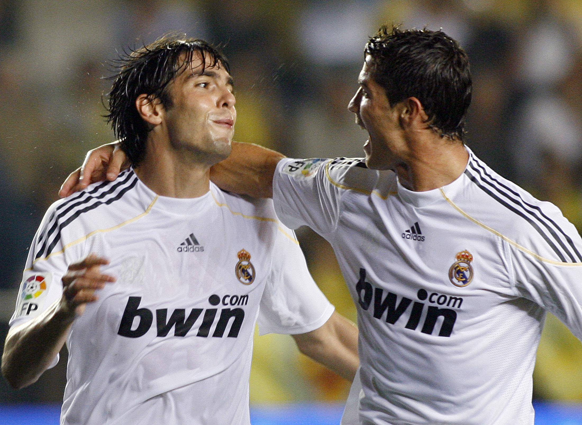 Kaka and Ronaldo were team-mates at Real Madrid once upon a time