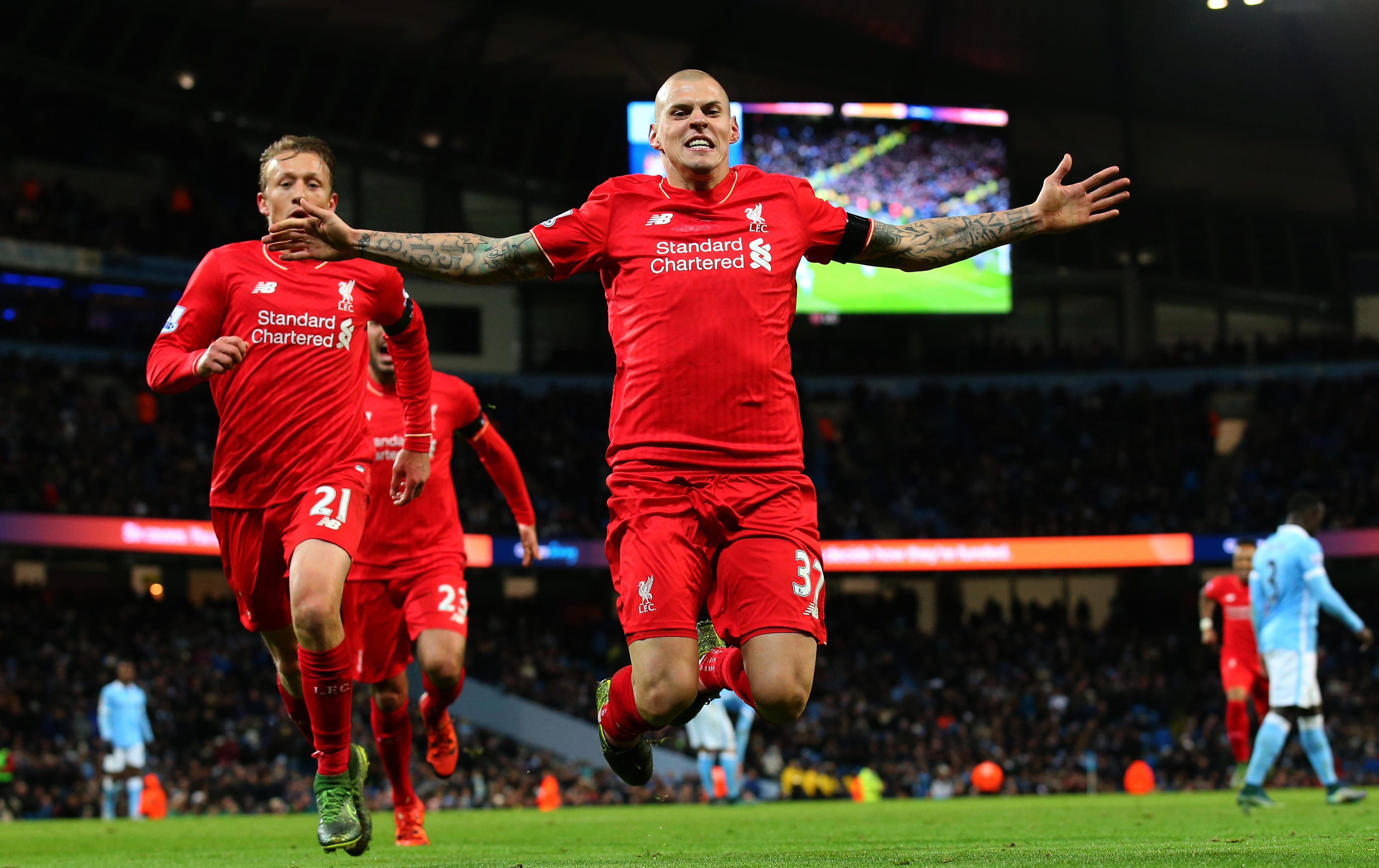 Skrtel was always a goal threat at Anfield