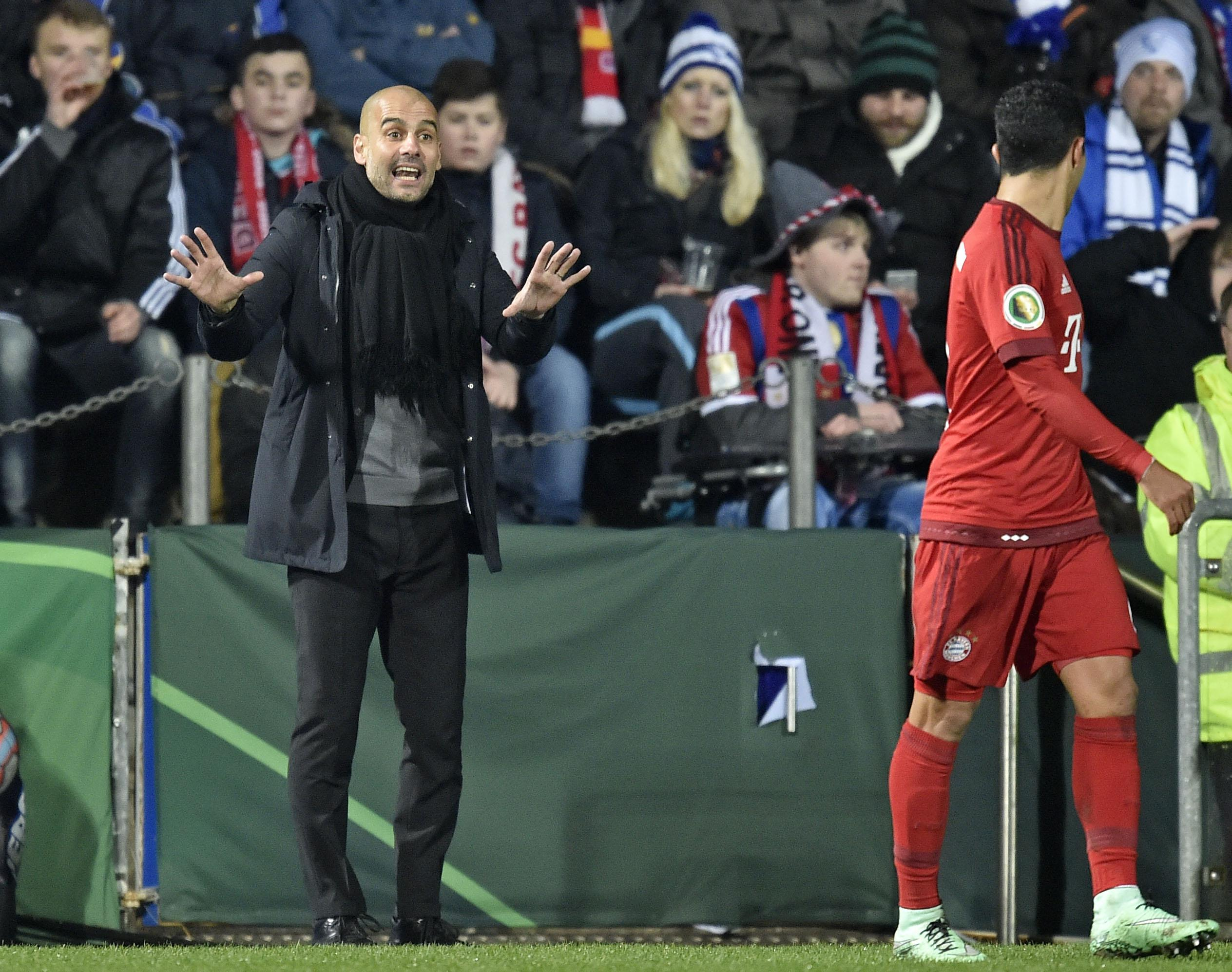 """Hey Xavi, I mean, err, Thiago."""