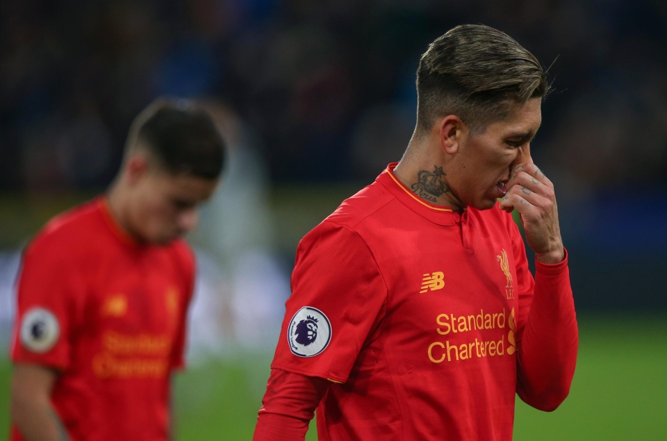 Liverpool were beaten 2-0 by Hull at the end of January