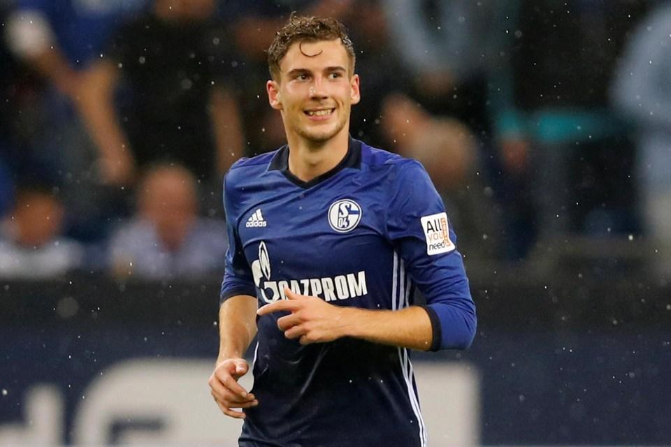 Manchester United interested in signing Leon Goretzka from Schalke