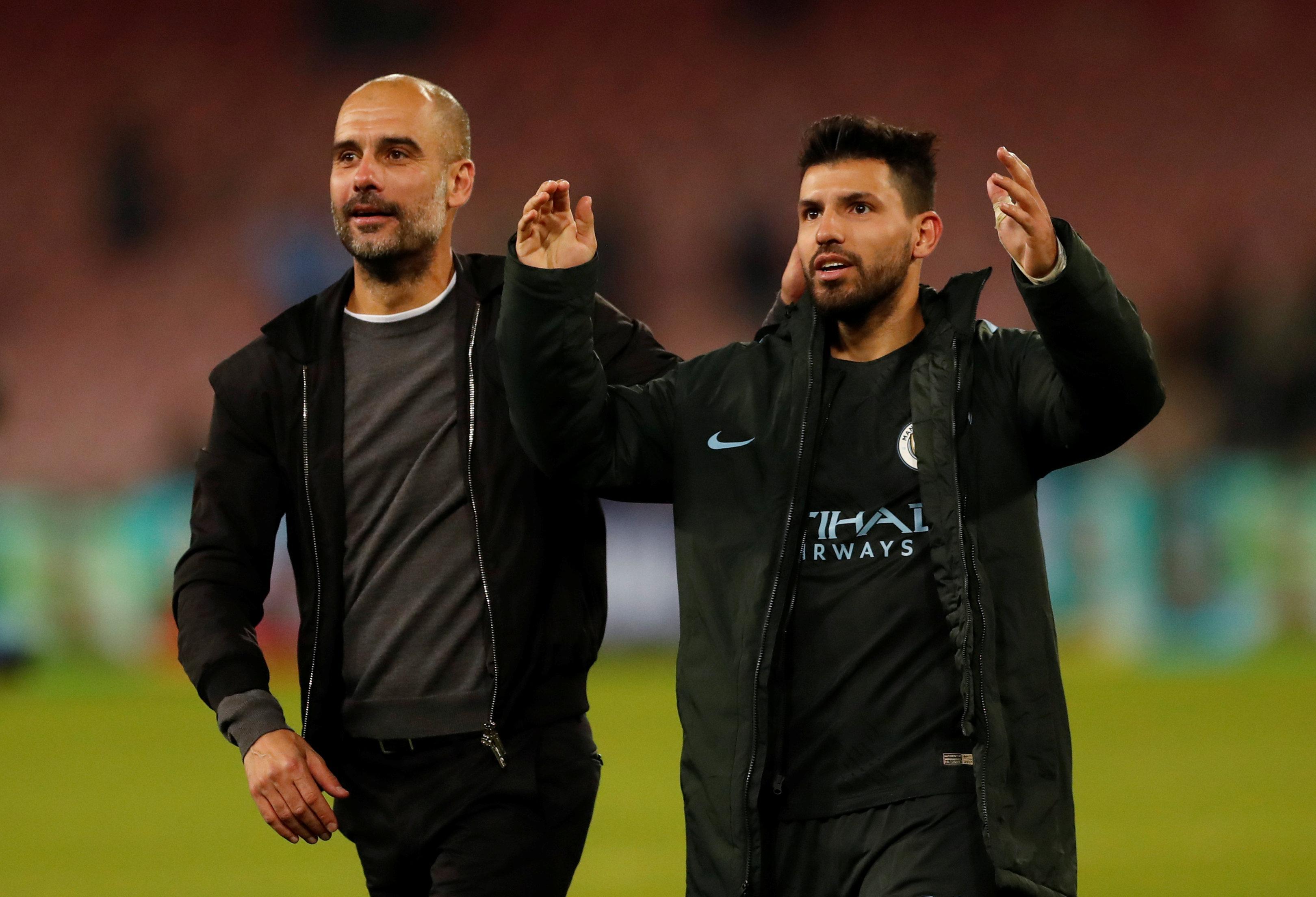 Aguero feels Guardiola is under-appreciating his efforts