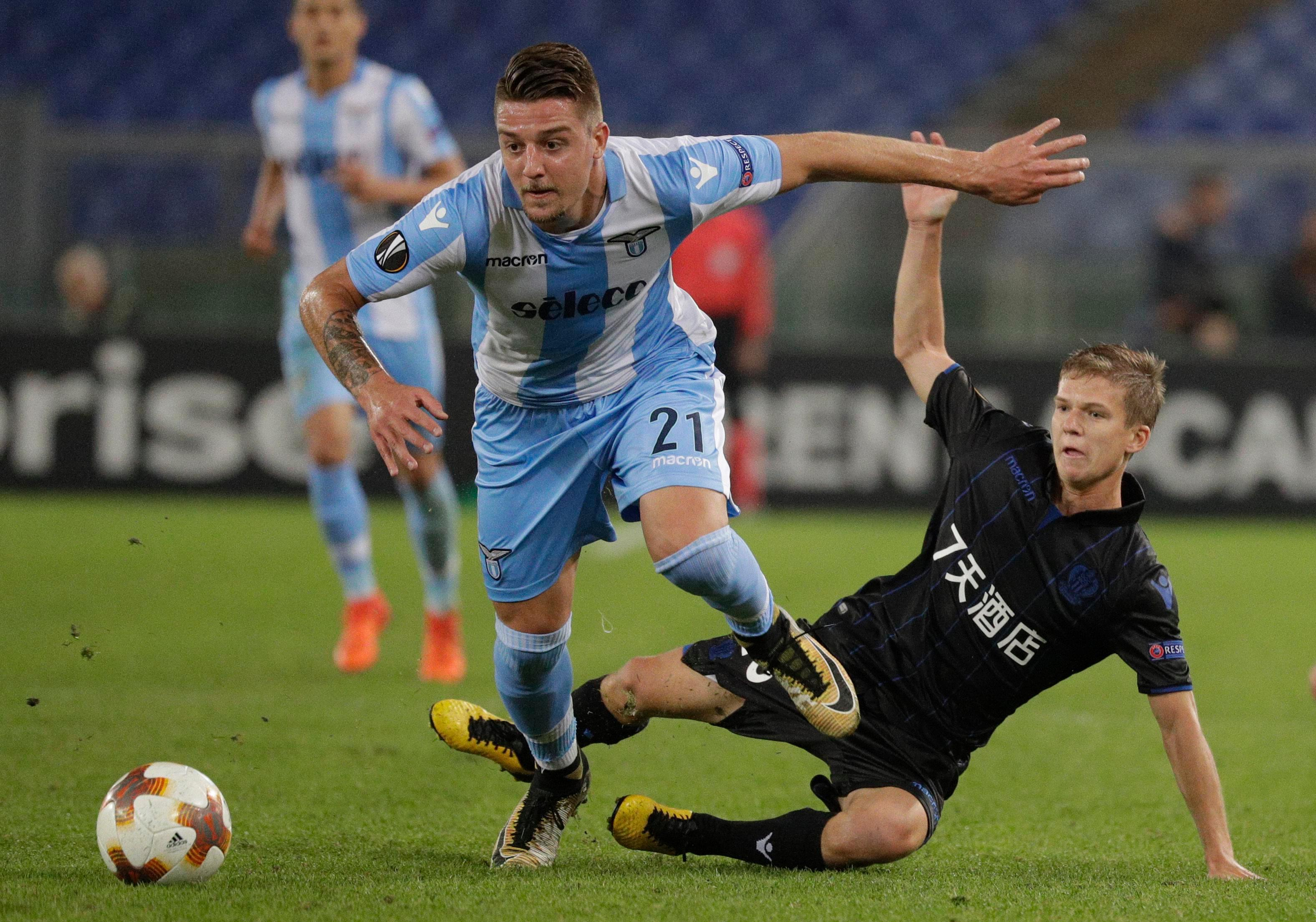 Manchester United are ready to smash their transfer record to sign Sergej Milinkovic-Savic