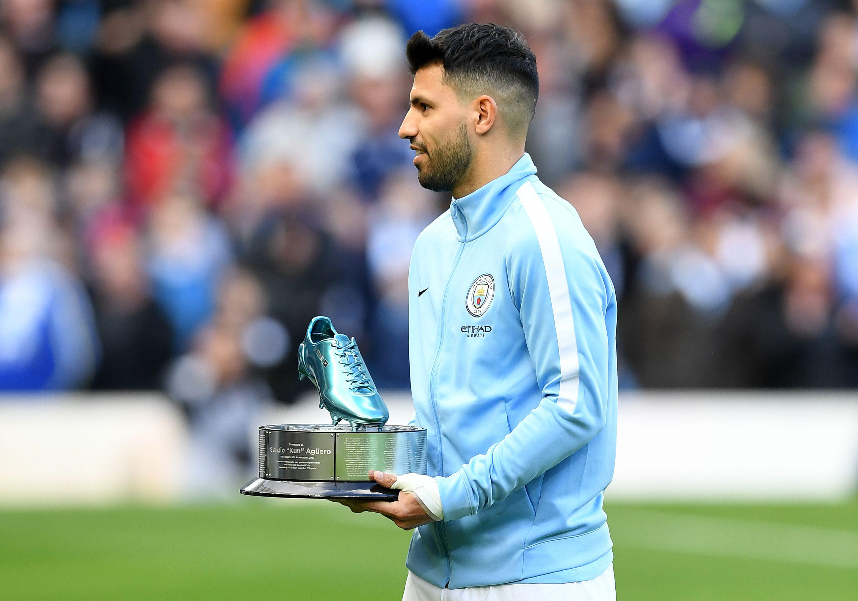 Aguero is City's all-time leading goalscorer