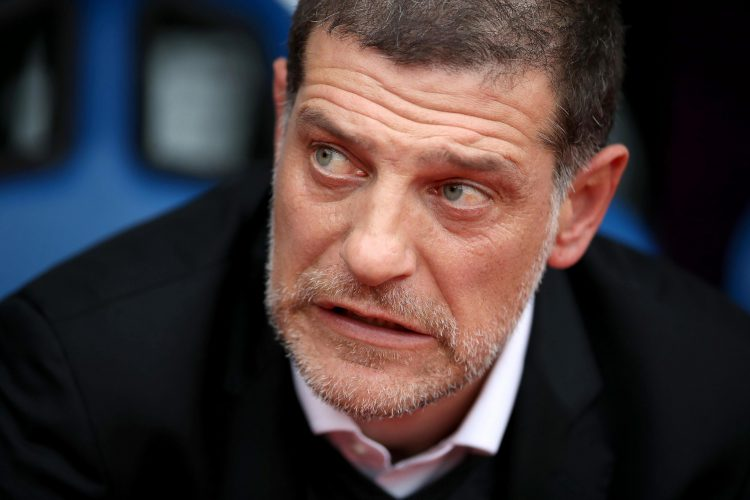 Bilic's face for 95% of his time at West Ham