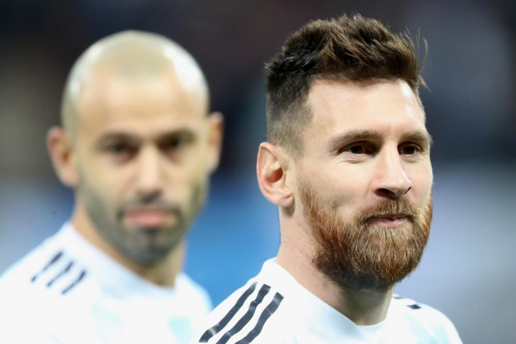Every Argentina player is in Messi's shadow
