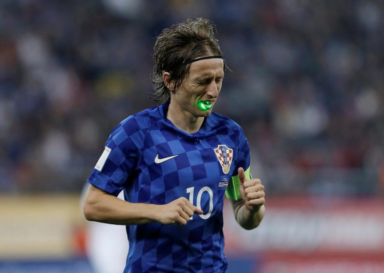 There's something on your face Luka