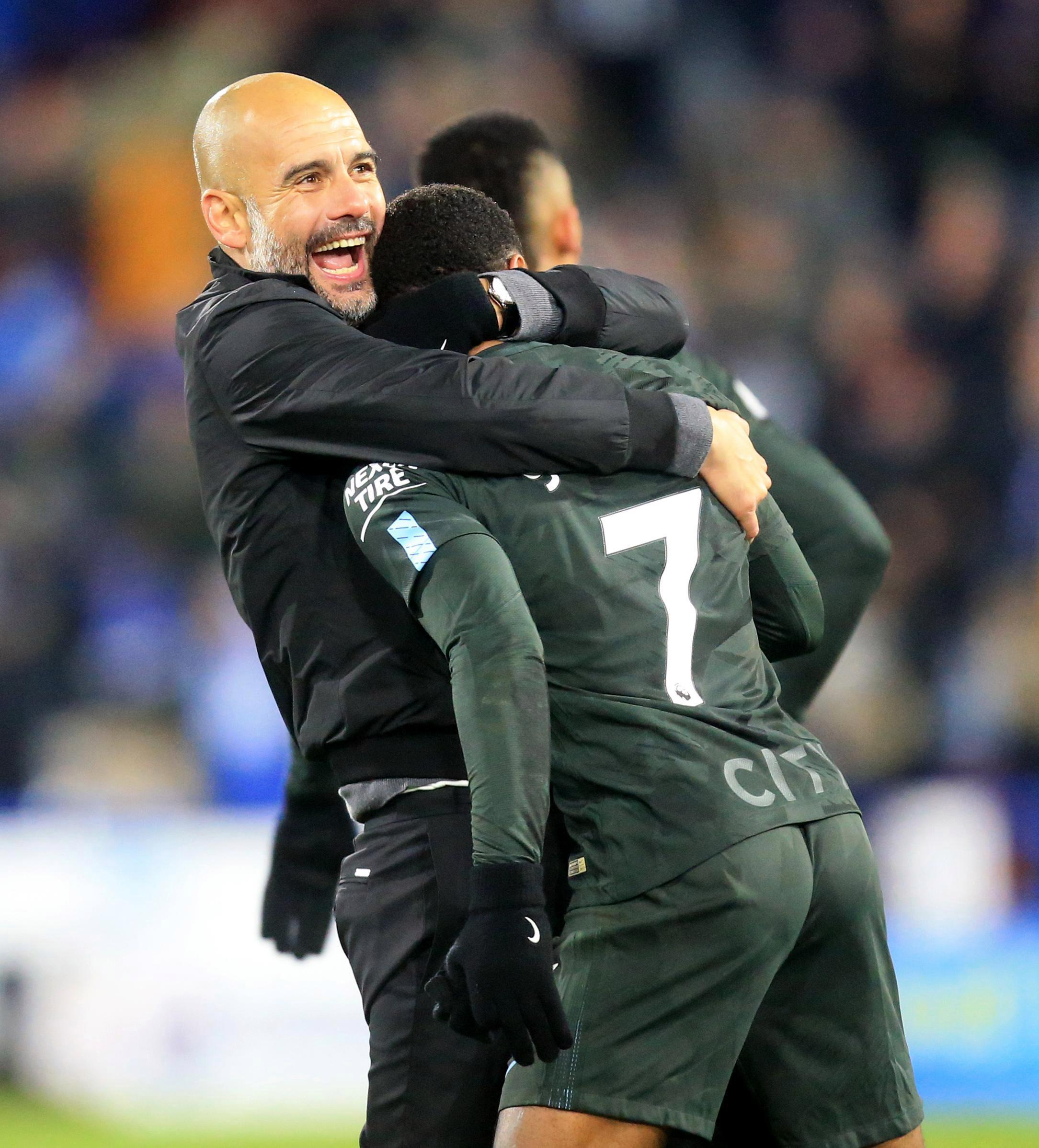 Pep Guardiola and Co want to sign Raheem Sterling to a long term contract