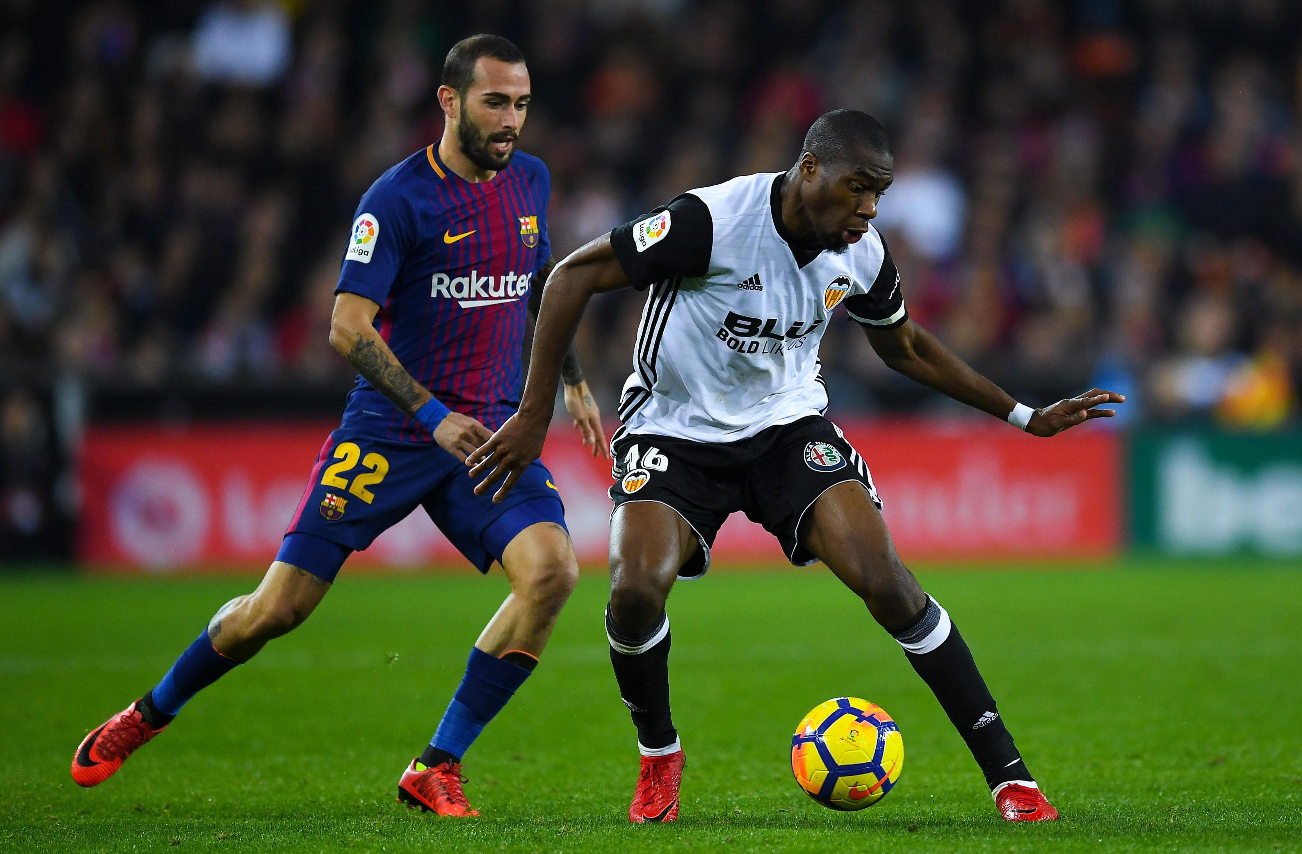 Kondogbia has helped Valencia challenge Barcelona at the top of La Liga this season