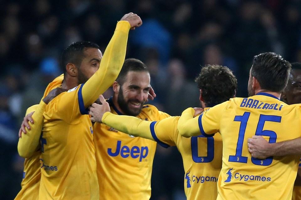 Higuain came back to haunt Napoli