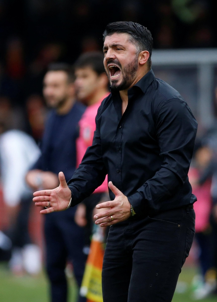 Gattuso has a job on his hands