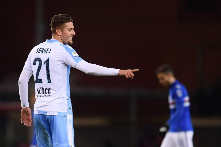Luckily for the wallets of Lazio fans he wears his first name on the back of his shirt