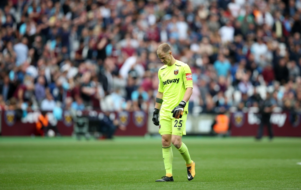 Joe Hart has come in for criticism during his loan spell at West Ham