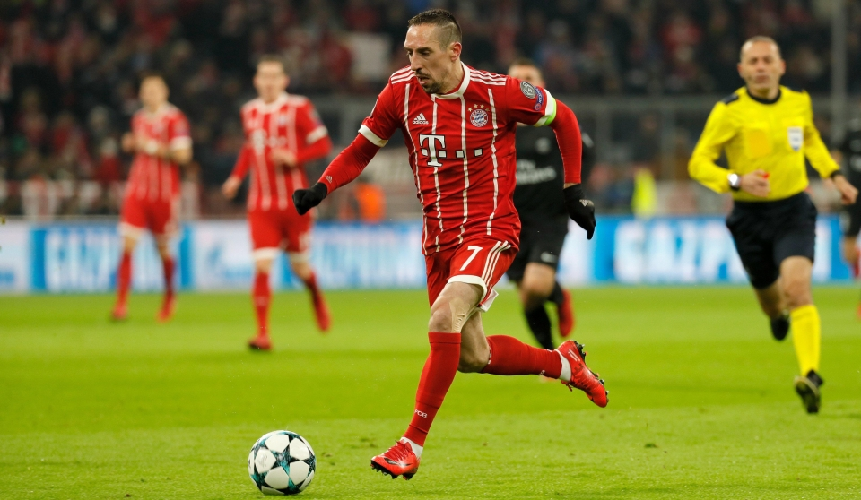 Ribery was back to his scintillating best