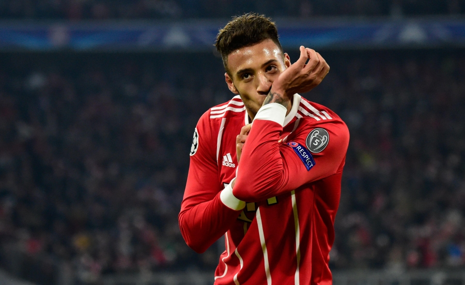 Tolisso benefited from the fearsome wide play