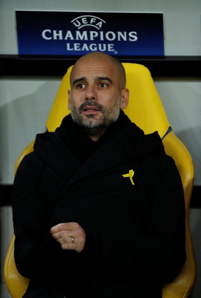 You can relax, Pep