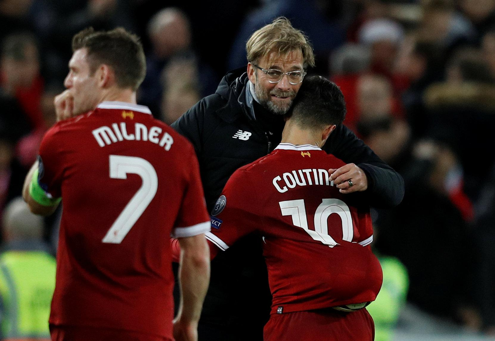 Klopp looks like a guy who gives kick-ass hugs