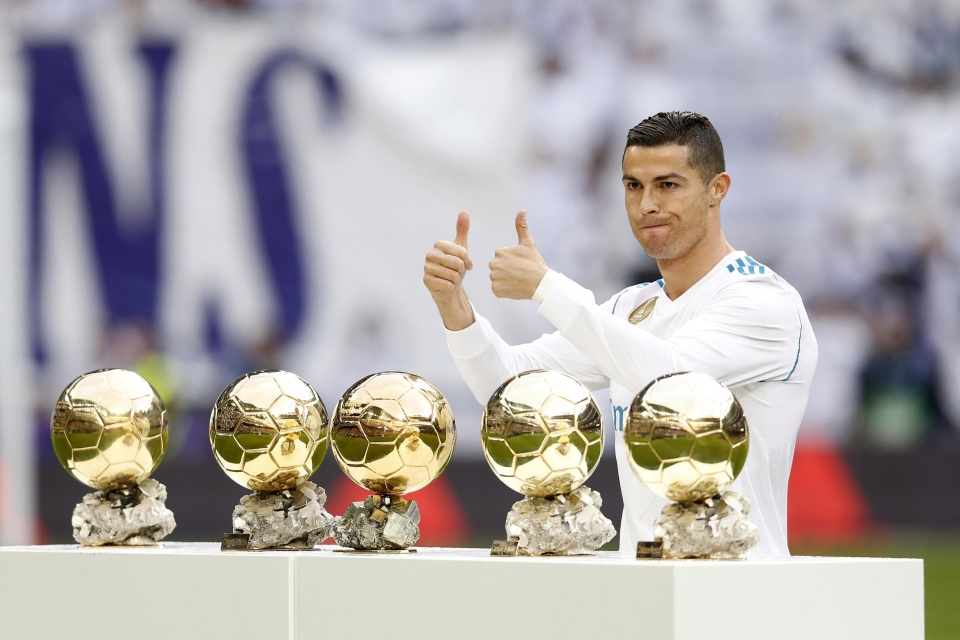 Perhaps Ronaldo's inflated ego is a little precious?