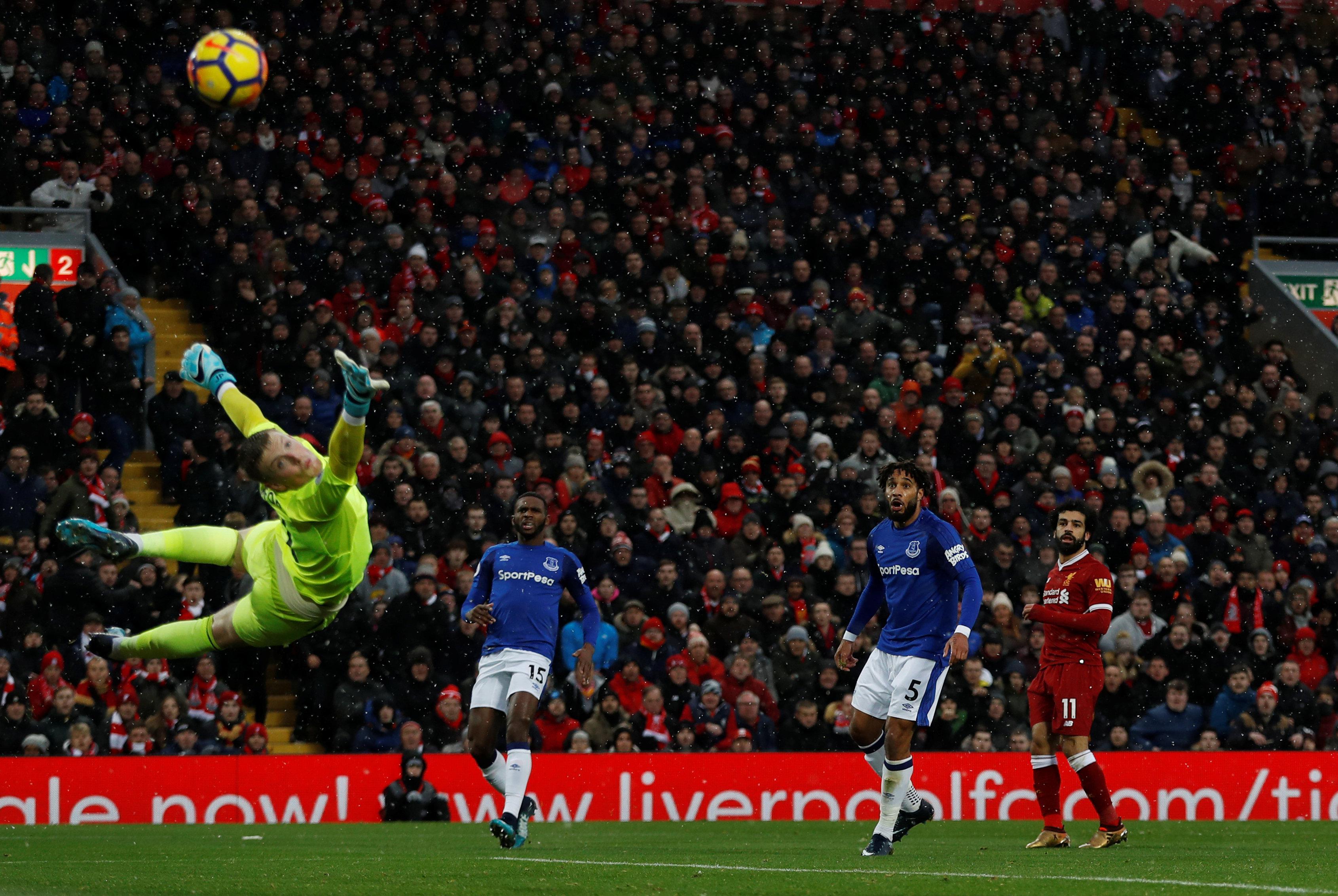 Salah's beauty against Everton