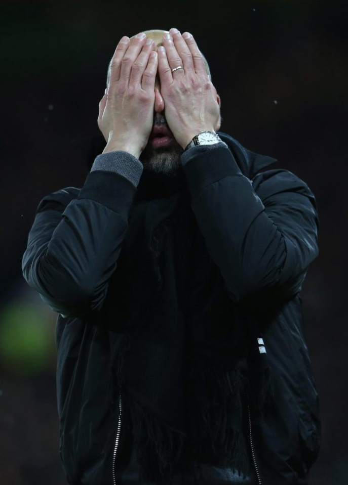 Don't worry Pep you're 11 points clear