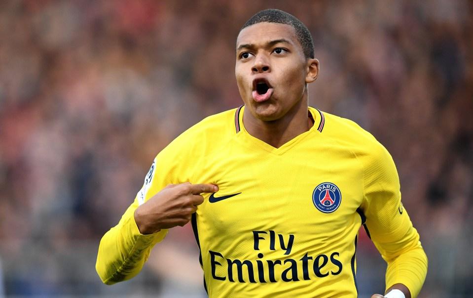 Mbappe has the nickname 'Donatello' among his team-mates