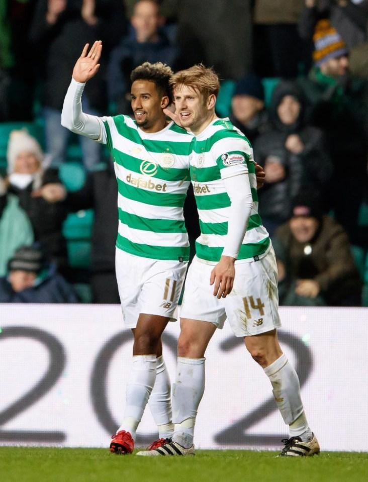 Scott Sinclair looks like a great footballer in Scotland