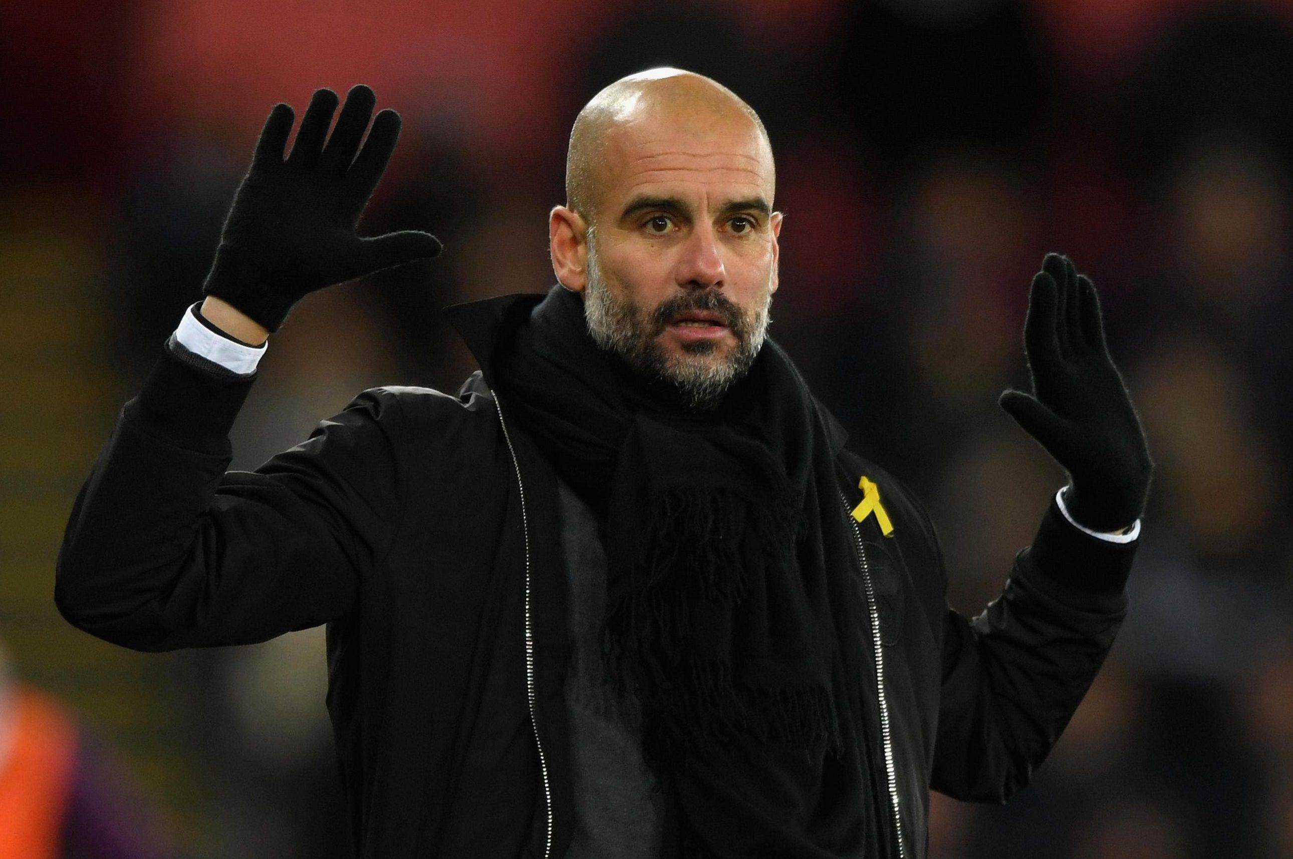 Pep Guardiola is also believed to be weighing-up a move for the centre-half