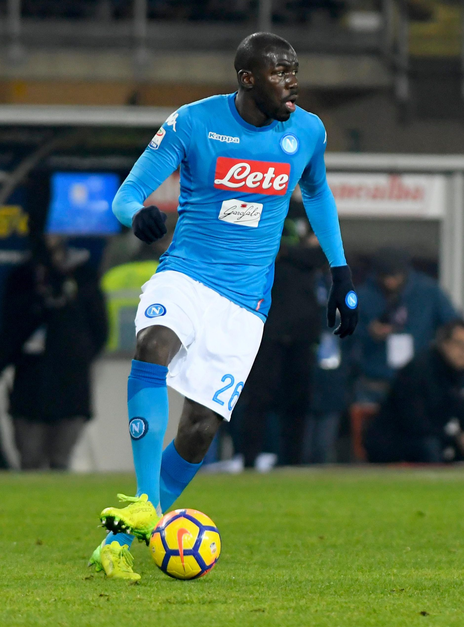 Barcelona and Chelsea are also fond of Koulibaly if rumours are to be believed