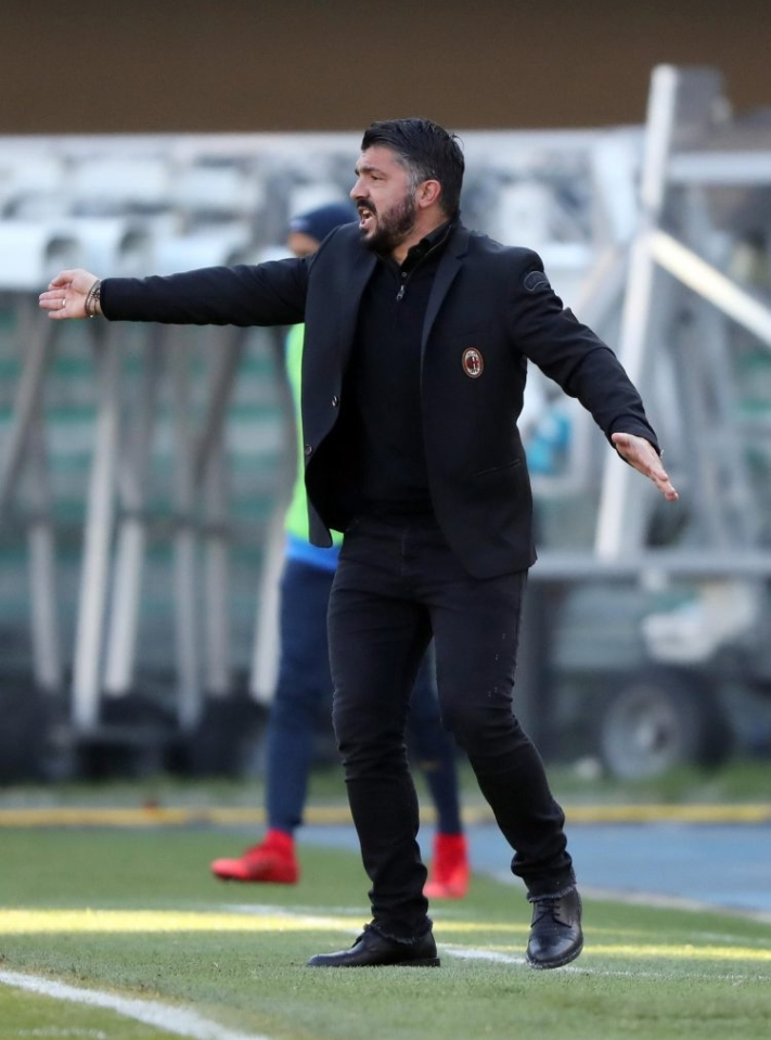 Gattuso must have felt like he was playing a rookie on FIFA