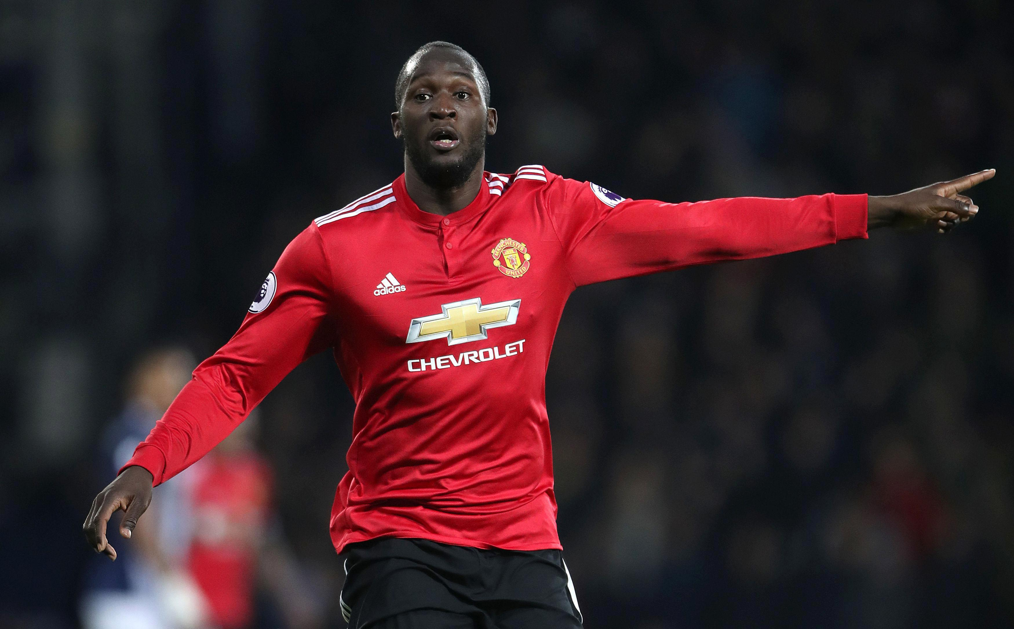 Lukaku was dropping deep to help out his midfield and try to create chances