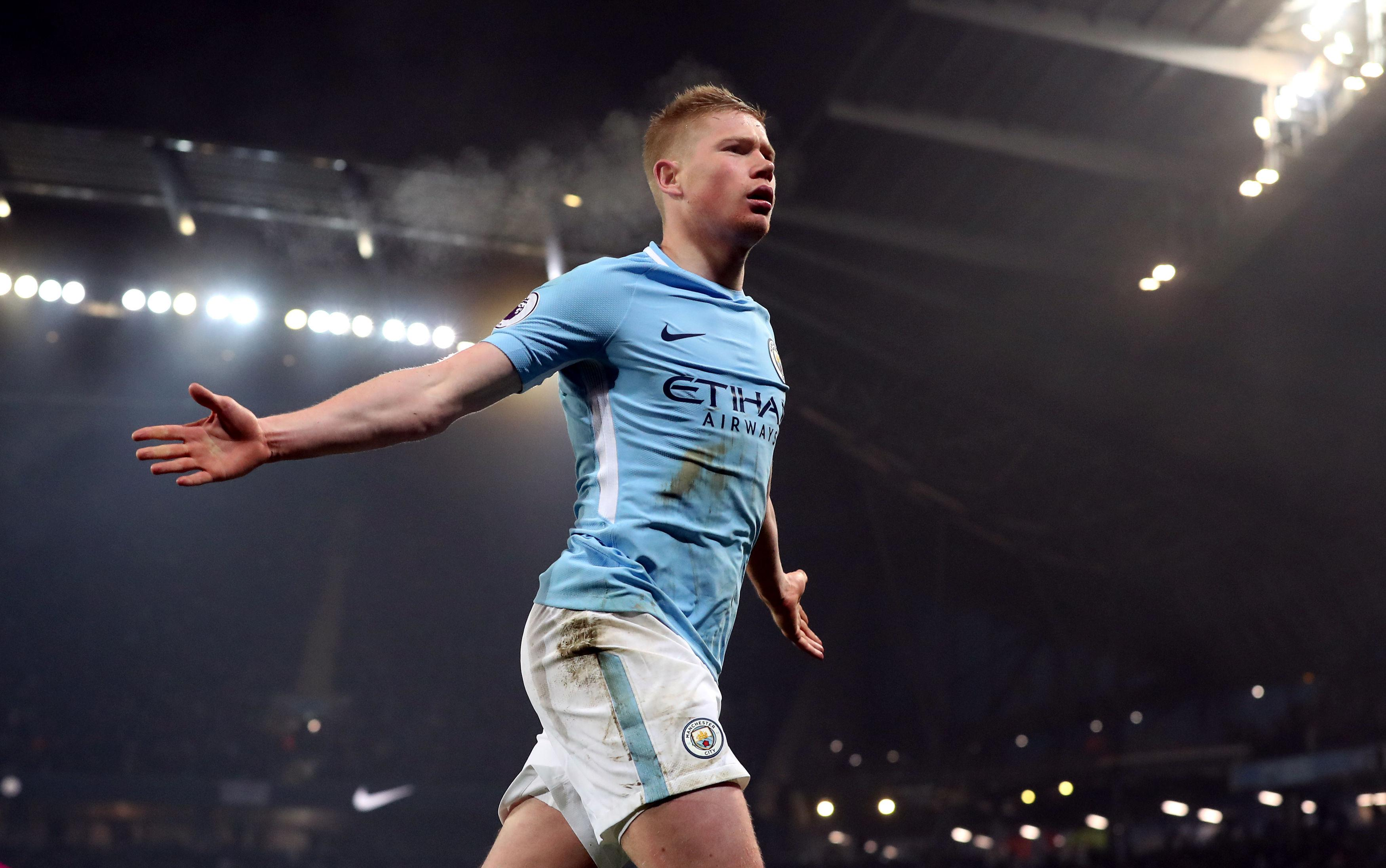 De Bruyne scored City's second goal