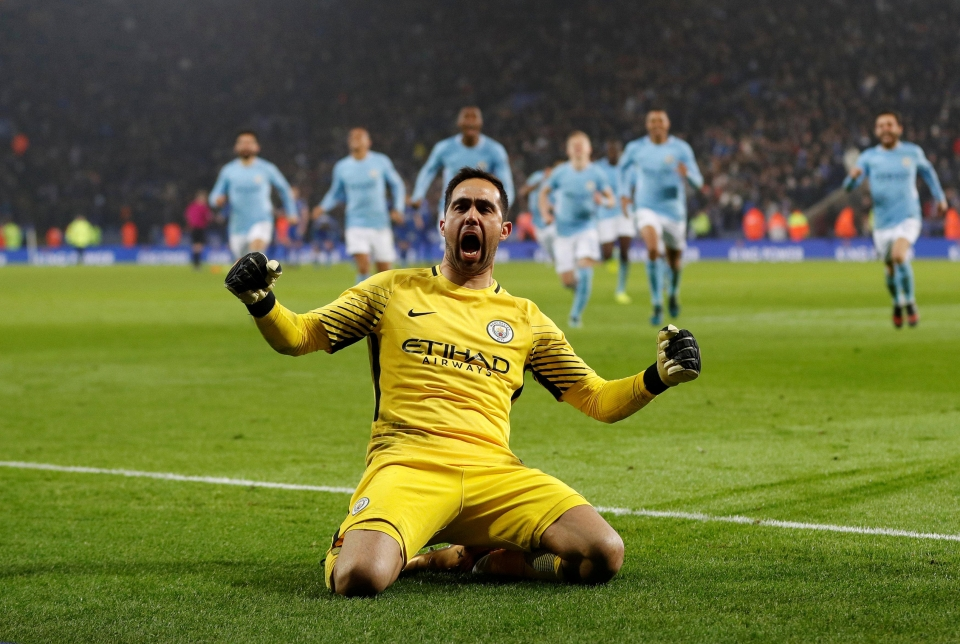 Bravo was the hero against Leicester