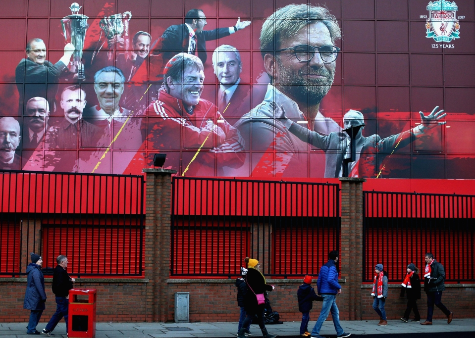 Anfield was later expanded to accommodate an extra 20,000 holograms
