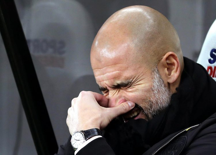 We're sorry Pep its true
