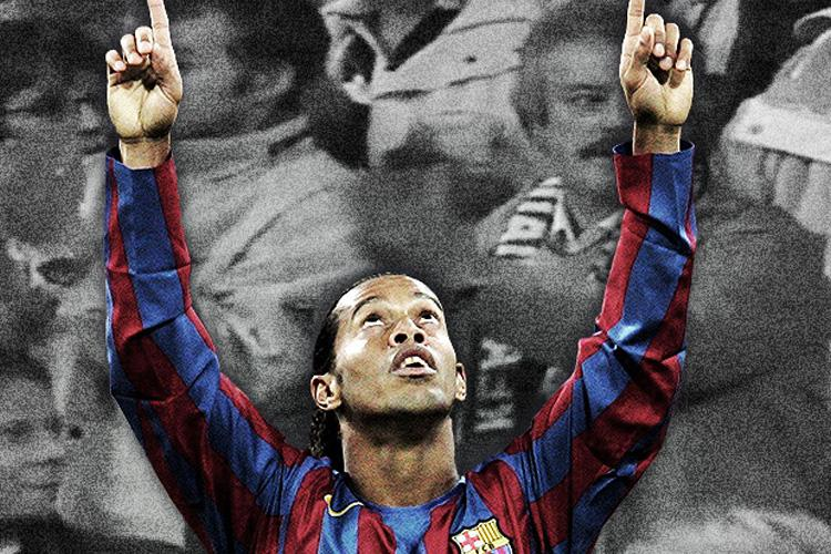 When Real Madrid Fans Gave Ronaldinho A Standing Ovation