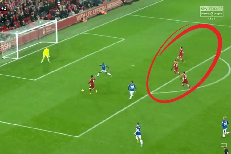 Mane had three team-mates demanding a pass when he choose to shoot